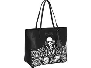 Loungefly  Embossed Bandana Tote With Tassels