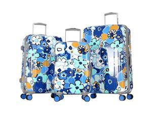 Olympia Blossom II 3pc Hardcase Spinner Set