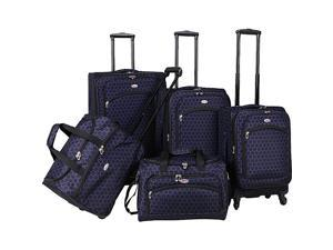 American Flyer Favo Collection 5-Pcs Luggage Set