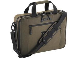 Mobile Edge Canvas ECO Briefcase - 16in.17in. Macbook