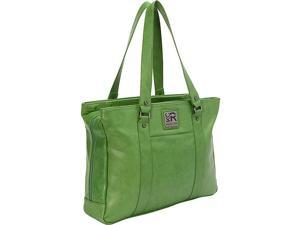 Kenneth Cole Reaction Hit a Triple Faux Leather Laptop Tote - EXCLUSIVE COLORS