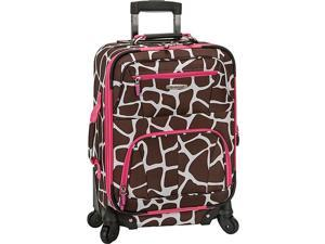 Rockland Luggage Mariposa 19in. Expandable Spinner Carry On