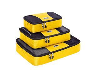 eBags Packing Cubes (3Pcs Set) - Canary