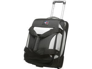 Denco Sports Luggage MLB Toronto blue jays 22'' Black Bottom Duffel