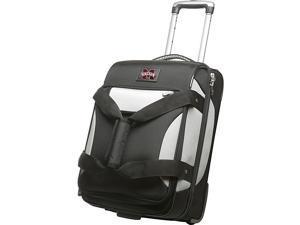 Denco Sports Luggage NCAA Mississippi State University 22'' Black Bottom Duffel