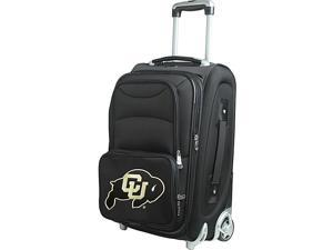 Denco Sports Luggage NCAA University Of Colorado  21''In-Line Skate Wheel Carry On