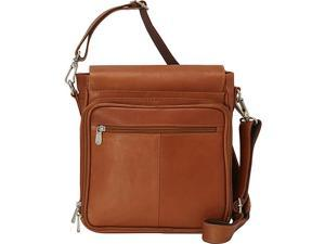 Piel Double Loop Tablet Carry-All Messenger Bag