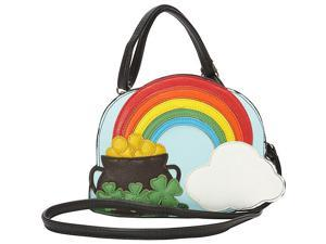 Ashley M The End Of The Rainbow Crossbody Bag