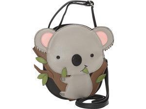 Ashley M Cute Baby Koala Bear Crossbody Bag