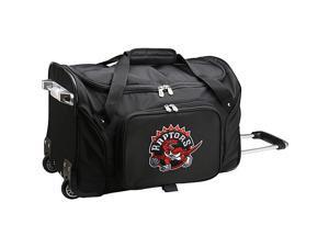 Denco Sports Luggage NBA Toronto Raptors  22in. Rolling Duffel