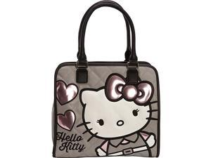 Loungefly Hello Kitty Quilted Hearts Tote