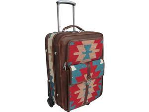 AmeriLeather Ramses 21in. Wheeled Luggage