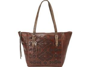 American West Mystic Shadow Zip Top Bucket Tote