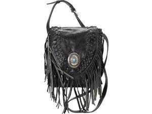 American West Pueblo Moon Fringe Flap Crossbody