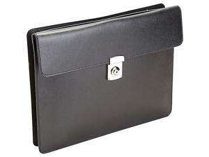 Royce Leather  RFID Blocking Executive Underarm Portfolio Brief