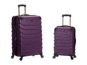 Rockland Luggage 2pc Speciale Expandable ABS Spinner Set