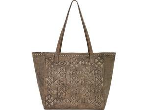 American West Azteca Zip Top Bucket Tote