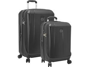 Delsey Helium Shadow 3.0 2 Piece Expandable Hard side 4 Wheeled Luggage Set, 21in., 25in.