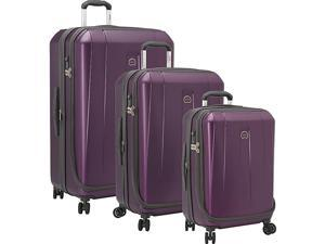 Delsey Helium Shadow 3.0 3 Piece Expandable Hard side 4 Wheeled Luggage Set, 21in., 25in., 29in.