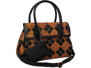 AmeriLeather Bennette Leather Handbag