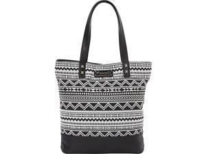 Loungefly Canvas Tote With Skull Applique