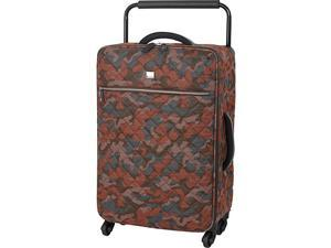 IT Luggage World's Lightest Quilted Camo 25.8 inch 4 Wheel Spinner
