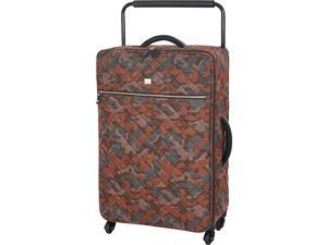 IT Luggage World's Lightest Quilted Camo 28.9 inch 4 Wheel Spinner