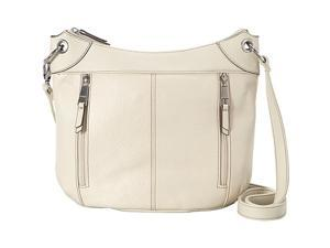 Tignanello Large Simple Grain Leather Convertible Crossbody