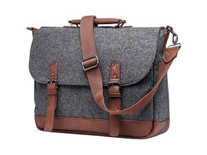 Something Strong Wool Messenger Bag with Padded Laptop Holder