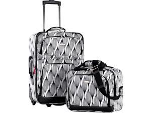 Olympia Lets Travel 2 Piece Carry On Luggage Set