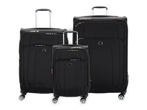 Delsey Helium Cruise 3 Piece Expandable 4 Wheel Spinner Luggage Set