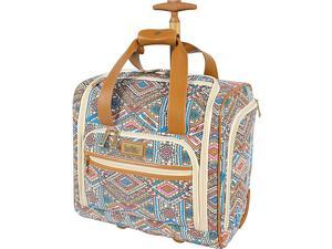 Nicole Miller NY Luggage Sedona Wheeled Under Seat Bag