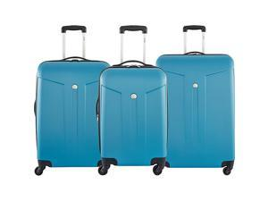 Delsey Com?te 3 Piece Expandable Hardside Luggage Set