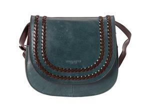 Tignanello Boho Classic Vintage Leather Saddle Bag