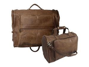 AmeriLeather Vintage Leather Two Piece Set Traveler