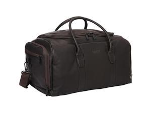 Kenneth Cole Reaction Duff Guy Colombian Leather Duffel Bag