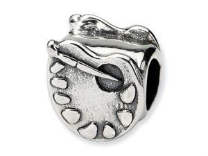 Reflections Sterling Silver Artists Palette Bead / Charm