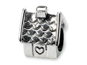 Reflections Sterling Silver House Bead / Charm