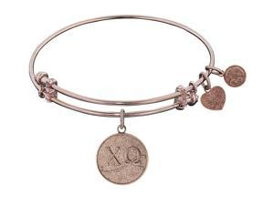 Angelica Collection Chi Omega Expandable Bangle in Brass