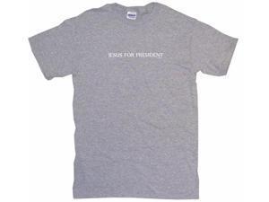 Jesus For President Men's Short Sleeve Shirt