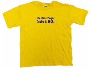 The Bass Player Needs A Beer Kids T Shirt