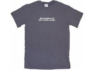 Bad Spellers Of The World Untie Men's Short Sleeve Shirt