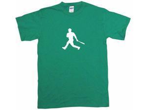 Baseball Batter Hitter Silhouette Logo Men's Short Sleeve Shirt