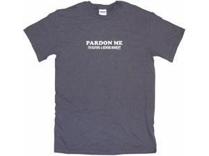 Pardon Me I'm Having A Senior Moment Men's Short Sleeve Shirt