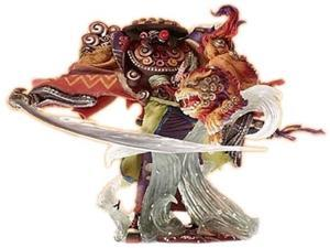 Final Fantasy Master Creatures: Vol 2 Yojimbo (Final Fantasy X) Figure