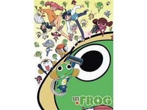 Sgt. Frog: Collage Wall Scroll GE5309