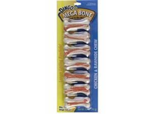 Dingo USA Mega Mini Bone White 2.4in 7 pack