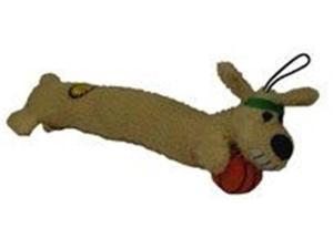 Multi Pet Loofa Sport 18in Basketball Dog Toy