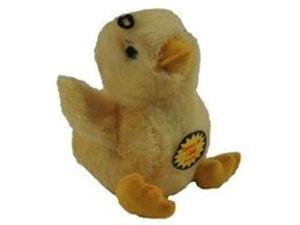 Multi Pet Look Whos Talking Chick Plush Dog Toy