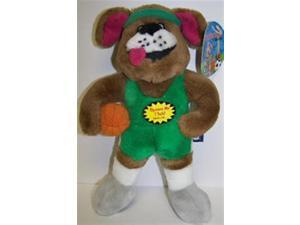 Multi Pet Muttscots Basketball Player Plush Dog Toy with Sound Chip